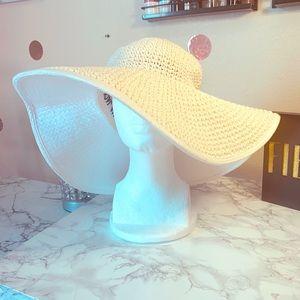 Women's Large brim Panama Jack Hat